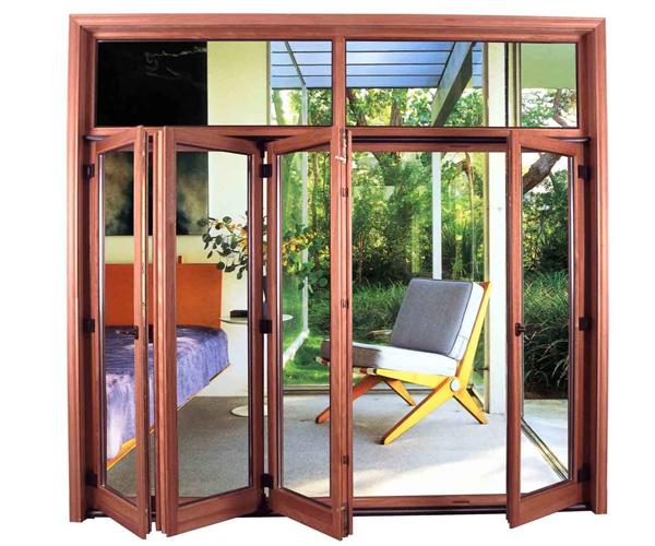 环保铝木门窗
